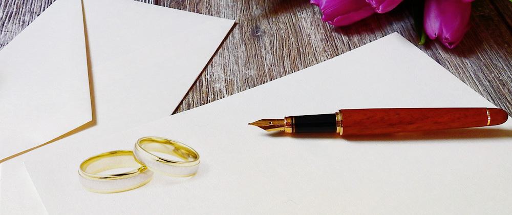 一生に一度の思い出を!結婚式の招待状で使える英語メッセージ